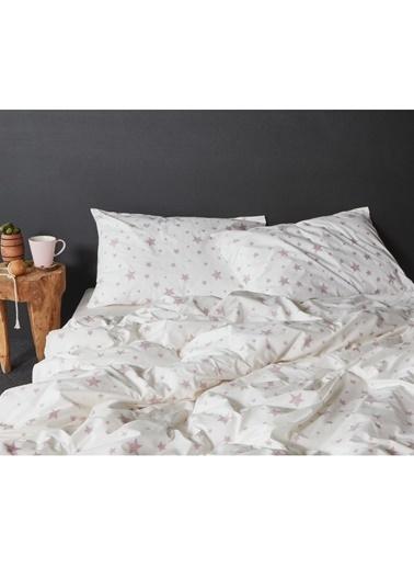 Hibboux 160x220 Star Nevresim + Yastık Kılıfı - W.Lavender Renkli